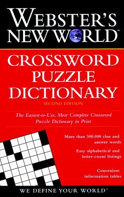 Image for WEBSTER'S NEW WORLD CROSSWORD PUZZLE DICTIONARY