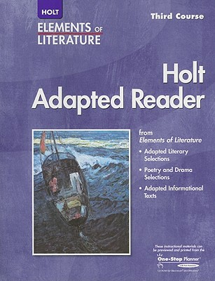Image for Elements of Literature: Adapted Reader Third Course
