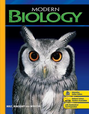 Modern Biology: Visual Concepts CD-ROM, HOLT, RINEHART AND WINSTON