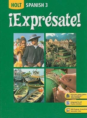 Image for ¡Expresate!: Spanish 3 (Spanish Edition)