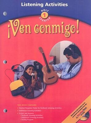 Image for ?Ven conmigo!: Listening Activity Level 1