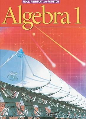 Image for Holt Algebra 1: Student Edition (C) 2003 2003