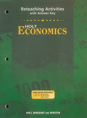 Image for Holt Economics Reteaching Activities with Answer Key