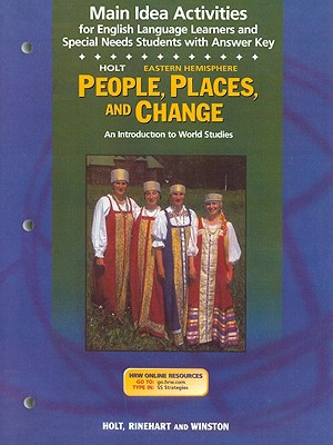 Image for Holt Eastern Hemisphere People, Places, and Change Main Idea Activities: An Introduction to World Studies
