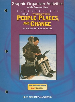 Image for Holt People, Places, and Change Graphic Organizer Activities with Answer Key Western World: An Introduction to World Studies