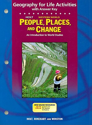 Image for Holt Western World People, Places, and Change Geography for Life Activities: An Introduction to World Studies