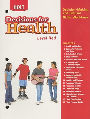 Image for Decisions for Health: Decision-Making and Refusal Skills Workbook Level Red Level Red
