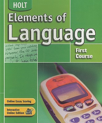Image for Elements of Language: Student Edition Grade 7 2004