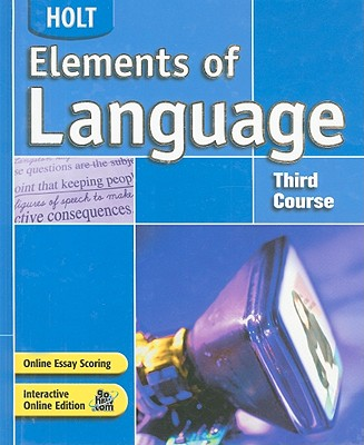 Image for Elements of Language: Student Edition Grade 9 2004