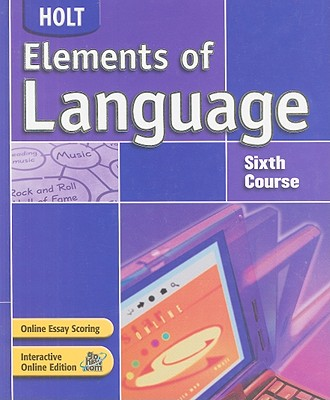 Image for Holt Elements of Language: Student Edition Grade 12 2004