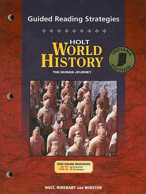 Image for Holt World History Guided Reading Strategies, Indiana Edition: The Human Journey