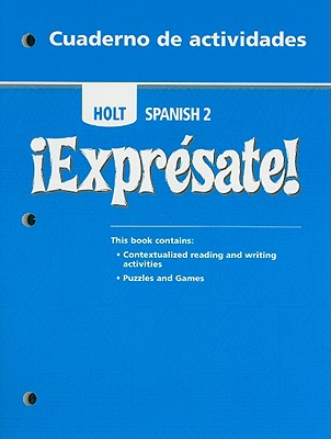 Image for ?Expr?sate!: Cuaderno de actividades Student Edition Level 2