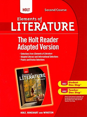 Image for Holt Elements of Literature: The Holt Reader, Adapted Version Second Course