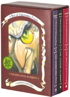 Image for The Situation Worsens: A Box of Unfortunate Events, Books 4-6 (The Miserable Mill; The Austere Academy; The Ersatz Elevator)
