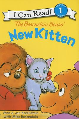 Image for The Berenstain Bears' New Kitten (I Can Read Level 1)