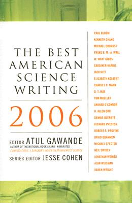 Image for BEST AMERICAN SCIENCE WRITING 2006