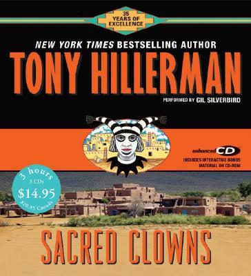 Image for Sacred Clowns CD Low Price (Joe Leaphorn/Jim Chee Novels)