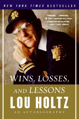 Image for WINS, LOSSES AND LESSONS An Autobiography