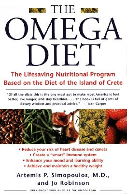 Image for **The Omega Diet: The Lifesaving Nutritional Program Based on the Diet of the Island of Crete