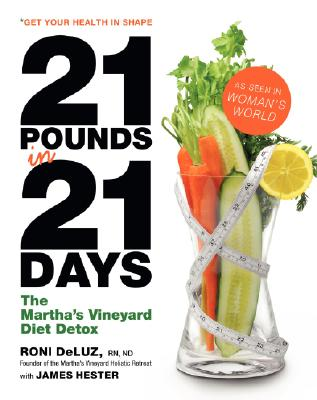 Image for 21 Pounds in 21 Days: The Martha's Vineyard Diet Detox