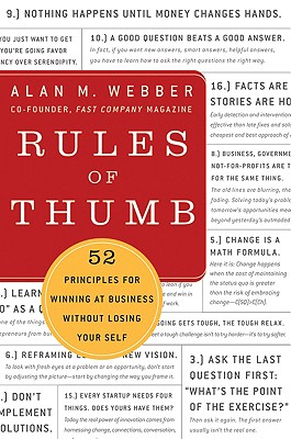 Image for Rules of Thumb: 52 Truths for Winning at Business Without Losing Your Self