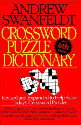 Image for CROSSWORD PUZZLE DICTIONARY