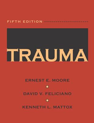 Image for TRAUMA FIFTH EDITION