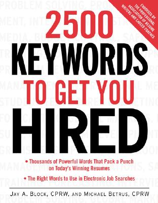Image for 2500 Keywords to Get You Hired
