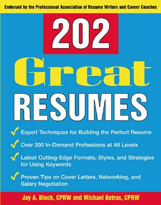 Image for 202 Great Resumes