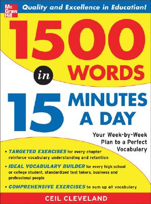Image for 1500 Words in 15 Minutes a Day