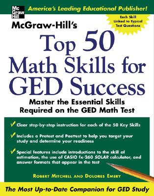 Image for McGraw -Hill's Top 50 Math Skills For GED Success