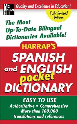 Image for Harrap's Spanish And English Pocket Dictionary