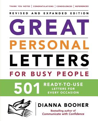 Image for GREAT PERSONAL LETTERS FROM BUSY PEOPLE
