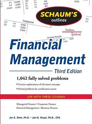 Image for Schaum's Outline of Financial Management, Third Edition (Schaum's Outlines)