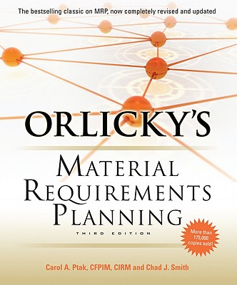 Image for Orlicky's Material Requirements Planning, Third Edition
