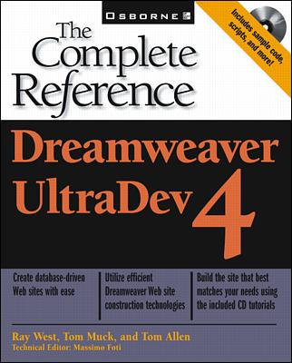 Image for Dreamweaver UltraDev 4: The Complete Reference