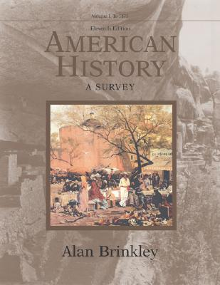 Image for American History: A Survey, Volume 1 MP w/Powerweb
