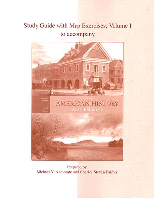 Image for Study Guide With Map Exercises; Vol 1 To Accompany American History: A Survey, Vol. II: To 1877 (12th Edition)