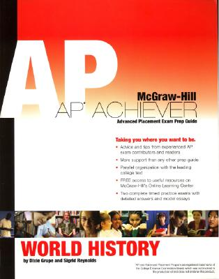 Image for AP Achiever (Advanced Placement* Exam Preparation Guide) for AP World History (College Test Prep)