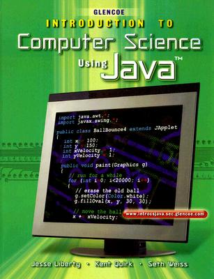 Image for Introduction To Computer Science, Using Java, Student Edition (HS INTRO TO COMP JAVA)