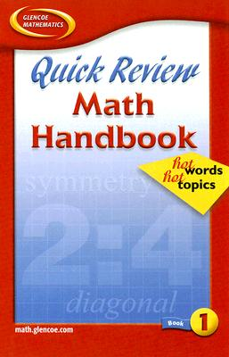 Image for Quick Review Math Handbook: Hot Words, Hot Topics, Book 1, Student Edition