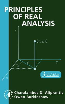 Principles of Real Analysis, Third Edition, Aliprantis, Charalambos D.