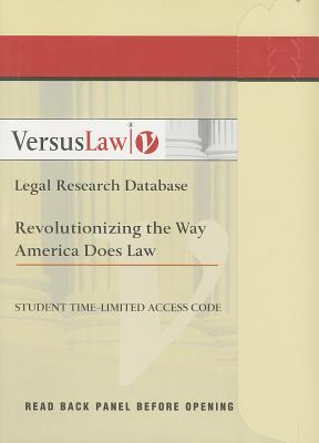 VersusLaw Access Card, Website VersusLaw (Author)