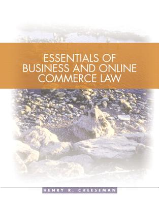 Image for Essentials of Business and Online Commerce Law