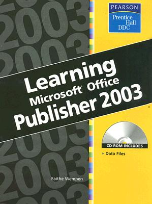 Image for Learning Series (DDC): Learning Microsoft Office Publisher 2003
