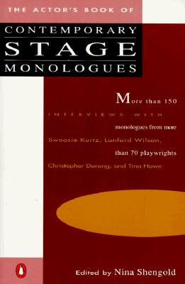 Image for The Actor's Book of Contemporary Stage Monologues: More Than 150 Monologues from More Than 70 Playwrights