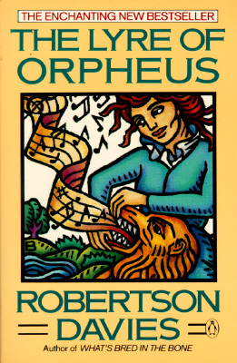 The Lyre of Orpheus (Cornish Trilogy), Davies, Robertson