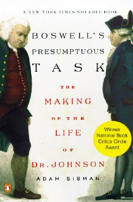 Image for Boswell's Presumptuous Task: The Making of the Life of Dr. Johnson