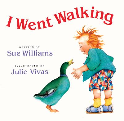 "I Went Walking: Lap-Sized Board Book, ""Williams, Sue"""