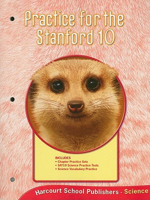Image for Harcourt Science Alabama: Practice For Stanford 10 Student Edition Grade 2